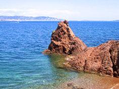 Pointe de l'aiguille, Théoule sur mer, Estérel, France