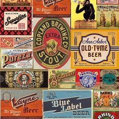 Adesivo Decorativo Beer Label - AdsiveShop Adesivos Decorativos de Parede