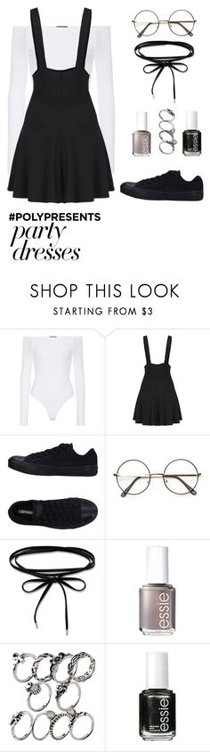 """""""A CAR, A TORCH, A DEATH//TØP"""" by win-ters ❤ liked on Polyvore featuring ATM by Anthony Thomas Melillo, Converse, Essie, contestentry and polyPresents"""