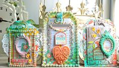 Webster's Pages Mini Bag Mania ~ Family Traditions Gift Tag Set