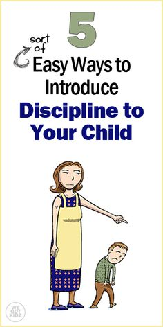 The Discipline Issue: 5 Ways to Introduce Positive Discipline to Your Child #parenting #discipline