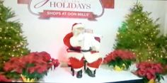 TV Coverage of Pics with Santa in the Holiday Studio
