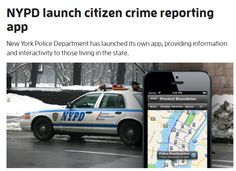 NYPD launch citizen crime reporting app