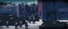 Pixel Characters, Pixel Art Games, Us Army, Warfare, Game Design, Game Art, World War, Concept, Random