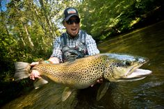 Catch Trophy Brown Trout By Stacking The Odds In Your Favor