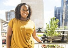 Amber Lewis is making waves in her hometown.There has been much buzz about Detroit's resurgence, but few know about the millennials that are quietly pushing the Motor City's comeback. Amber Lewis is one of those helping to bring about that change.Lewis, 25, heads the digital and social media departme