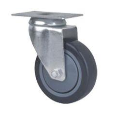 Simple Apparate Lenkrolle mit Platte Mittelschwere Rollen Lenkrollen Hersteller China