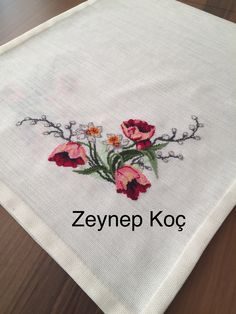 Cross Stitch Rose, Fabric Painting, Crochet, Poppies, Herb, Craft, Hand Embroidery, Dots, Dressmaking