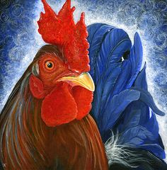Shake Your Tail Feathers by Tracy Anderson--Fine Art America