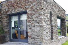 Aluclad Windows & Doors Installation by Youghal Glass, Aluclad sliding doors, French doors & bi-fold doors, fixed panoramic windows, timber entrance doors Entrance Doors, Garage Doors, Stunning View, Sliding Doors, French Doors, Windows, Building, Glass, Outdoor Decor