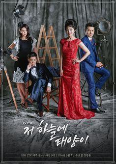 #kdrama starting today 2016/09/07 in Korea TV Novel - The Sun in the Sky