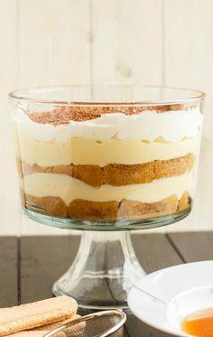 Tiramisu Trifle: an easy, no-bake, rich and creamy dessert!