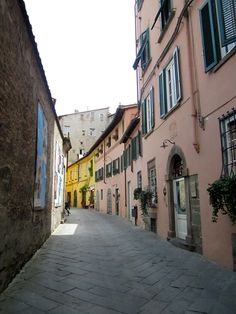 Lucca, Italy...rode bikes along this street, stopped to take photos every inch along the way!