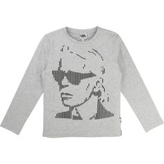 330aa424957 Buy t-shirt long sleeves Boy and Karl Lagerfeld Kids childrenswear  collection on Moi et