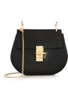 Chloé Drew medium textured-leather shoulder bag   NET-A-PORTER