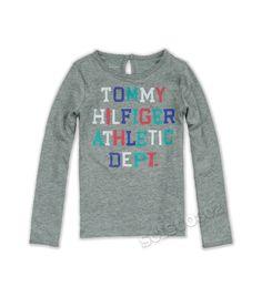 Tommy Hilfiger Shirt Long Sleeve TH Gray Shirt