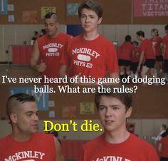 How I felt during gym class