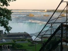 View from top of hill, Niagara Falls, Ontario