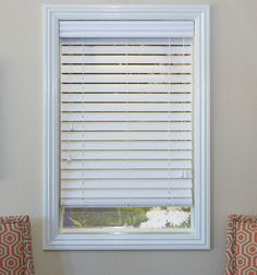 Blindsgalore Wood Alternative Blinds: Smooth Slats in White - standard Mini Blinds, Blinds For Windows, Weathered Wood, Wood Wood, Window Coverings, Window Treatments, Blinds Online, Faux Wood Blinds, Cheap Curtains