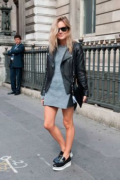 KNITWEAR * More LFW S/S 2015 Street Style | Fashion, Trends, Beauty Tips & Celebrity Style Magazine | ELLE UK
