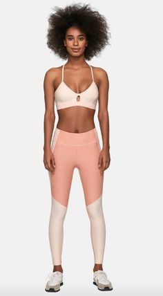 d408963029 Millennial Pink Workout Clothes Shouldn't Even Surprise You at This Point.  Different generations have different preferences. Color tends to identify  the ...