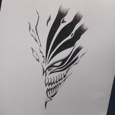 bleach mask tattoo - Szukaj w Google