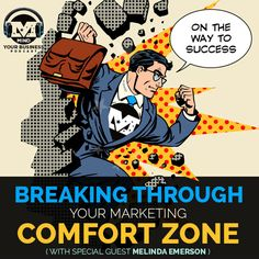 """America's #1 Small Business Expert returns to the MIND Your Business podcast as our first guest in our 2017 """"Breaking Through Your Marketing Comfort Zone"""" series, relating what she personally has had to overcome and what she has seen clients have to overcome.  Excellent info from a most excellent expert for you on this week's podcast!"""