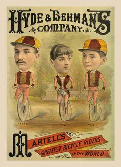 Vaudeville Bicycle Act