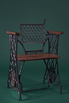 Vintage Chairs – Singer Design Chair – Handmade – a designer piece by S …