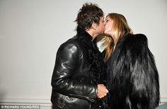 Kate and husband Jamie Hince. Oct 2014