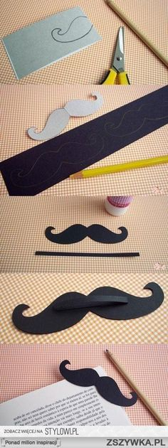 DIY Mustache Bookmark diy craft crafts craft ideas easy crafts diy ideas diy crafts fun crafts easy diy kids crafts fun diy kids craft crafts for kids teenager crafts crafts for teens Cute Diys, Cute Crafts, Diy And Crafts, Diy Bookmarks, Corner Bookmarks, Bookmark Craft, Cool Diy, Easy Diy, Fun Diy