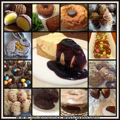 Sometimes a sweet treat is the perfect thing when you want to give a gift to a friend, need to take a plate to something special - or just a treat for the family! Color Collage, Sweet Recipes, Sweet Treats, Muffin, Sweets, Baking, Breakfast, Desserts, Food