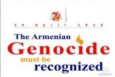 April 24 of each year marks the date when the Ottoman Turkish Empire began the elimination of Christian Armenians in the first genocide of the 20th century.
