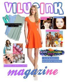 New Vilueink Magazine Cover. #VilueinkMagazine #Vilueink #GHannelius #TeenBeachMovie #MacKenzieFoy #BellaThorne #KidsChoiceAwards