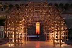 CIDORI Installation by Kengo Kuma