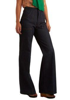 Vintage Belle Bottoms Jeans, #ModCloth