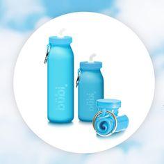 025d7094da bubi bottle - BPA free, silicone, heat & cold resistant foldable water  bottles