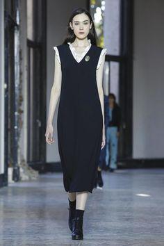 Agnes b summer dress neck