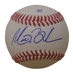 Texas Rangers Matt Bush signed Rawlings ROLB leather baseball w/ proof photo.  Proof photo of Matt signing will be included with your purchase along with a COA issued from Southwestconnection-Memorabilia, guaranteeing the item to pass authentication services from PSA/DNA or JSA. Free USPS shipping. www.AutographedwithProof.com is your one stop for autographed collectibles from Dallas Sports teams. Check back with us often, as we are always obtaining new items.