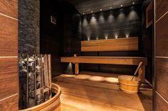 Rustic Saunas, Sauna Design, Helsinki, Stairs, Shelves, Master Bathrooms, Home Decor, Spa, Morocco