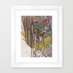 Framed Art Print by Zhou,  FREE Shipping thru Sunday, Worldwide! $31