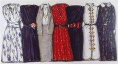 Collections -dresses 1985 lisa milroy
