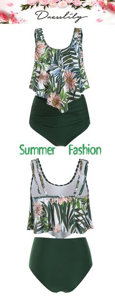 Fetching tankini to rock on vacation Swimsuits For Teens, Tankini Swimsuits For Women, Modest Swimsuits, Kids Swimwear, Clothing Sites, Bra Styles, Set Design, Design Model