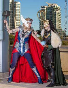 Thor & Loki | Fan Expo 2013 Toronto