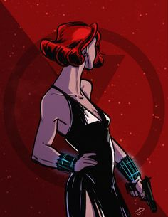 Black Widow fanart by jadepart