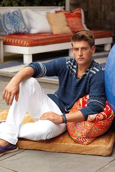 RL Style Guide True Blues  Polo Ralph Lauren's newest styles bring to mind the azure water of a seaside retreat; we show you how to wear them now Explore the Style Guide