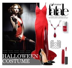 """Clock's Ticking: Last-Minute Halloween Costumes"" by fattie-zara ❤ liked on Polyvore featuring November, Bling Jewelry, Couture Colour, John Lewis, Verdura and lastminutecostume"