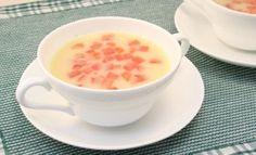 冷製カレークリームスープ