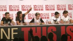 One Direction This Is Us press conference in full