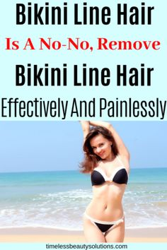 Bikini Hair Removal Tips[That Work] - Timeless Beauty Solutions ingrownhairremoval Chin Hair Removal, Upper Lip Hair Removal, Hair Removal Spray, Hair Removal For Men, Permanent Facial Hair Removal, Remove Unwanted Facial Hair, Unwanted Hair, Best Hair Removal Products, Hair Removal Methods